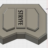 Small Nerf Stryfe Motor Cover 3D Printing 144834