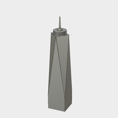 One World Trade Center 3D Print 144844