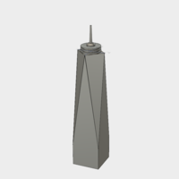 Small One World Trade Center 3D Printing 144844
