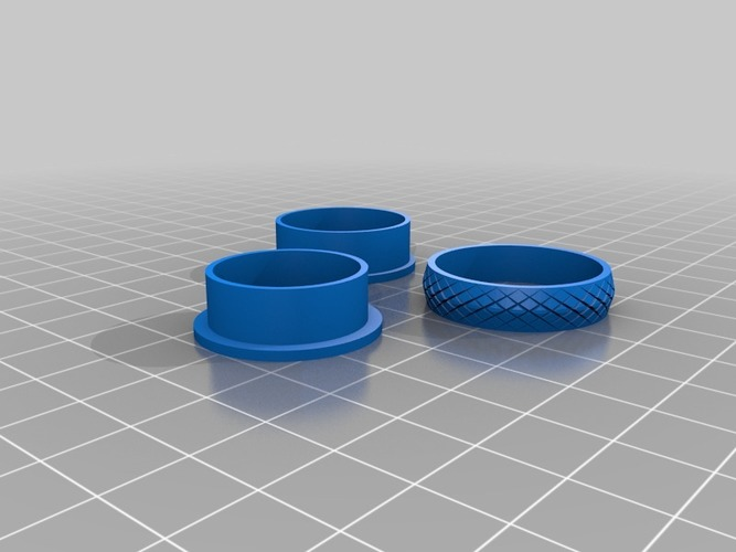 "My Customized ""Fidget"" Spinner Ring 3D Print 14485"