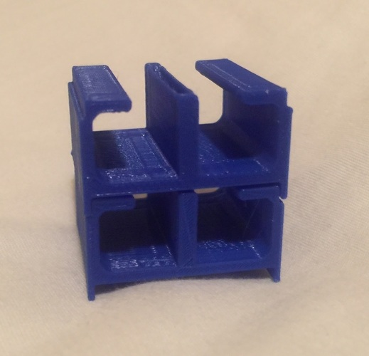 Click stack cable organizer 3D Print 144852