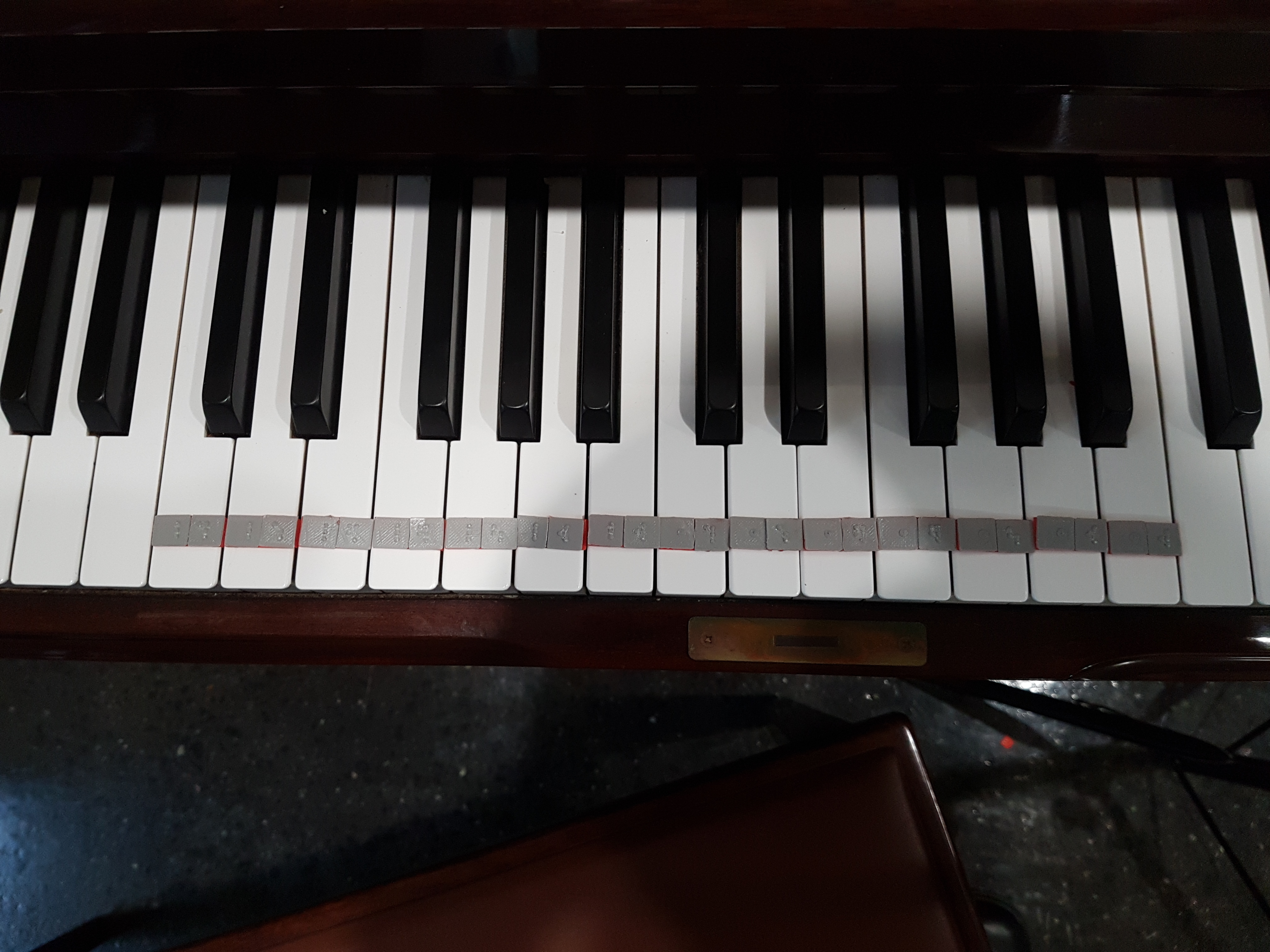 Piano Key Braille