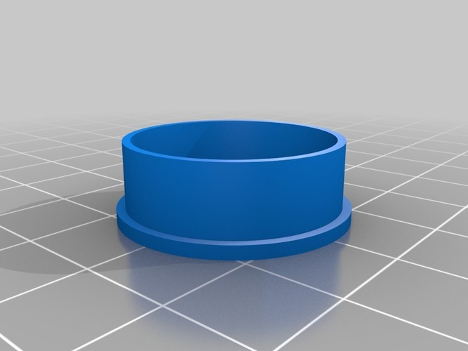 "My Customized ""Fidget"" Spinner Ring 3D Print 14487"