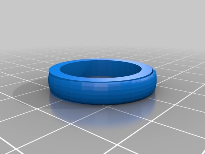 size 11 unisex ring 3D Print 14490