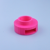 Small tea light candle hand match box holder 3D Printing 14492