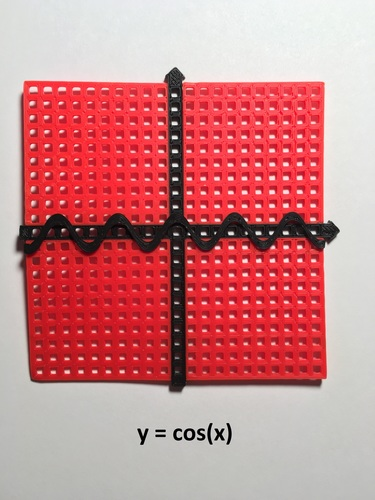 Graphing Tool (Coordinate Plane with Functions)  3D Print 144960