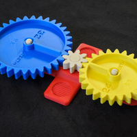 Small Math Gear(s)-Enhanced 3D Printing 145097