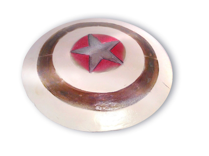 Captain America Shield - 40 cm, 3D printable 3D Print 145169