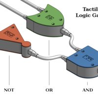 Small Tactile Logic Gates 3D Printing 145446