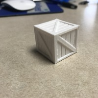 Small Crate Box 3D Printing 145447