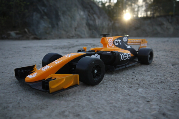 Medium OpenRC F1 Dual Color McLaren Edition 3D Printing 145462