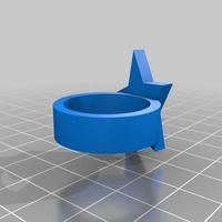 Small star ring 3D Printing 14547
