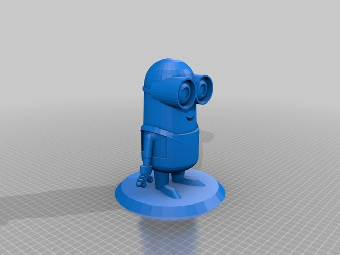 Minion with 2 eyes 3D Print 14556