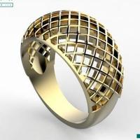 Small grid ring 3D Printing 145566