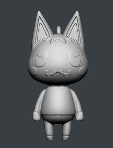 Rosie Animal Crossing 3D Print 145625