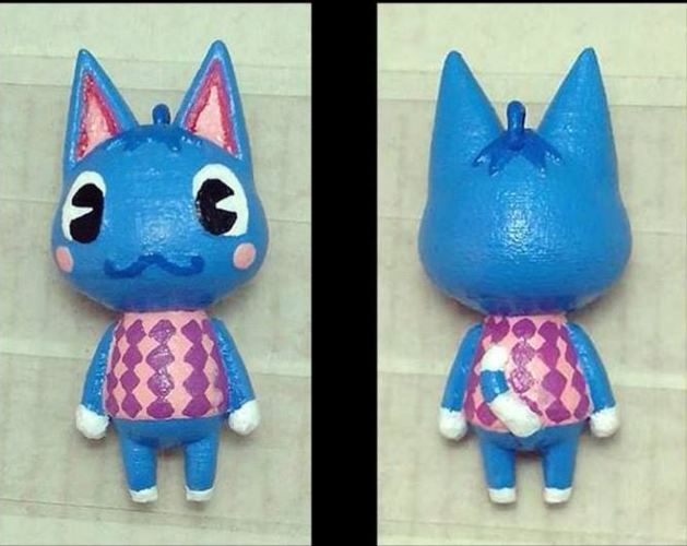 Rosie Animal Crossing 3D Print 145630