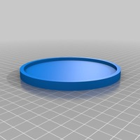 Small mug drink coaster 3D Printing 14568