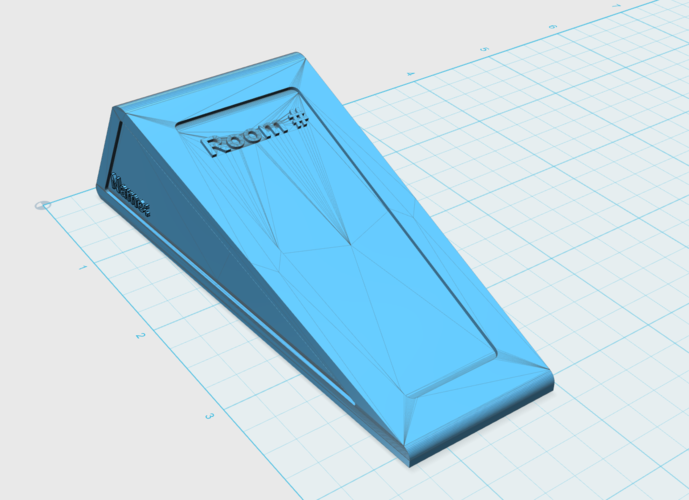 Customizable Door Stop 3D Print 145686