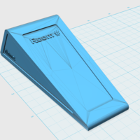 Small Customizable Door Stop 3D Printing 145686