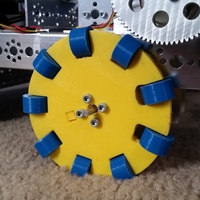Small Omni Wheels--FIRST Tech Challenge 3D Printing 145887