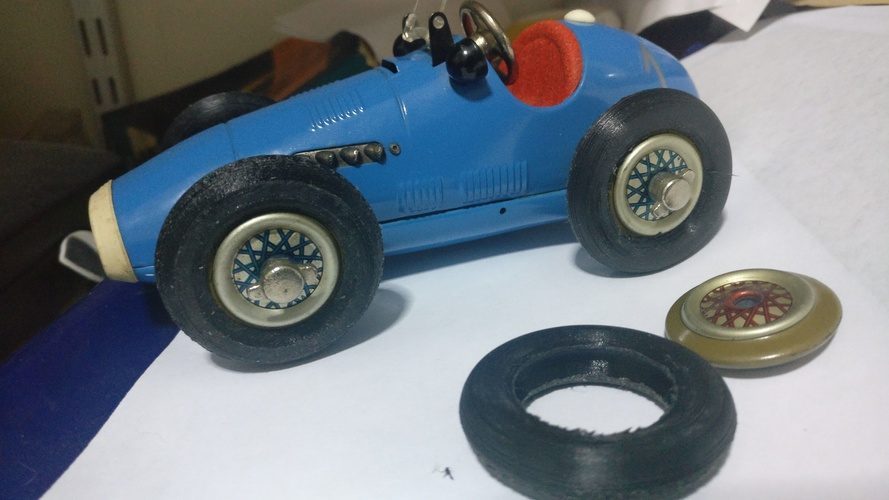 Schuco Wheel Tire 3D Print 145904