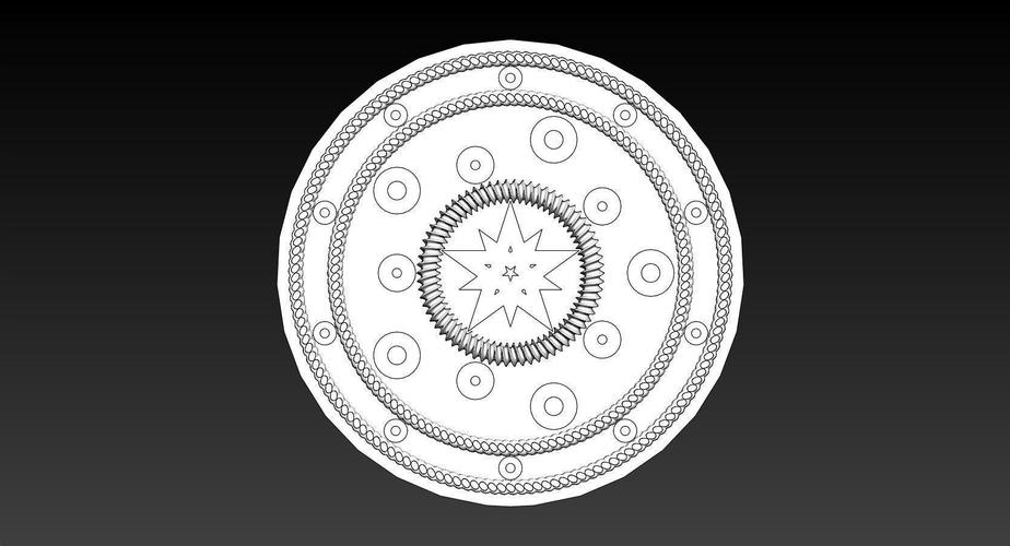 100mm ManHole Cover Coins 3D Print 145905