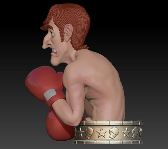 "Glass Joe  ""Punch Out"" 3D Print 145969"