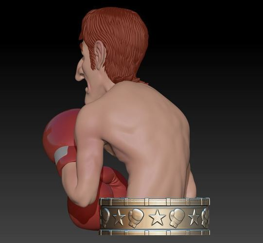 "Glass Joe  ""Punch Out"" 3D Print 145970"