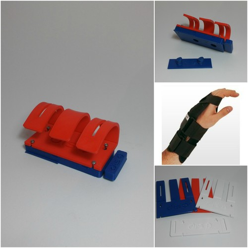 Latching device for people with mobility disabilities in hands.  3D Print 146071