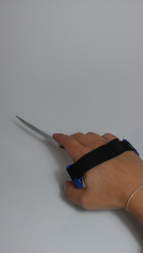 Latching device for people with mobility disabilities in hands.  3D Print 146072