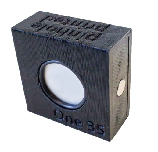 One 35 -  One Piece 3D Printed Pinhole Camera 3D Print 146143