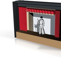 Small elvis theater  3D Printing 14616