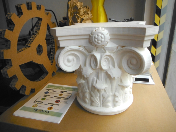 Corinthian Capital 3d printing made 3D Print 146231