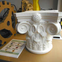 Small Corinthian Capital 3d printing made 3D Printing 146231