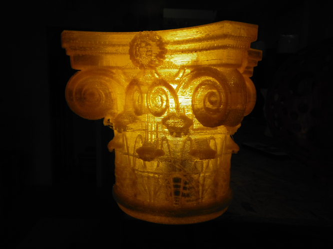 Corinthian Capital 3d printing made 3D Print 146232