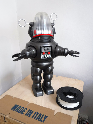 New Italy Robbie Robot 3D Print 146233