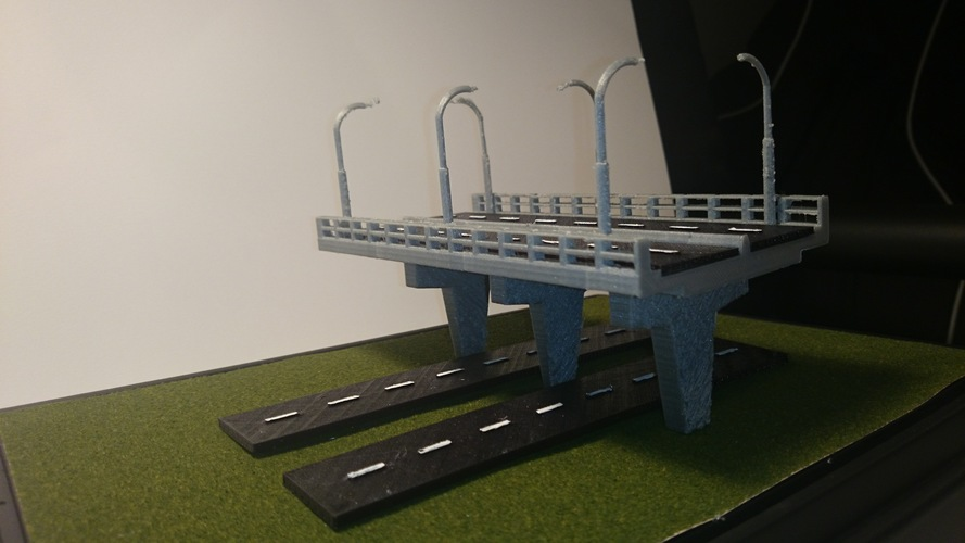 Bridge Decoration 3D Print 146310