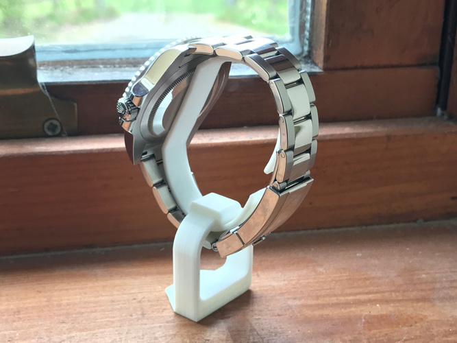 Easy-to-print Watch Stand  3D Print 146329