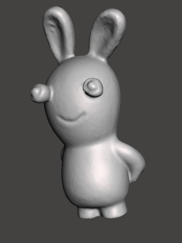 Medium Raving rabbids, lapin crétin scan  3D Printing 146363
