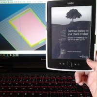 Small kindle casing 3D Printing 146378
