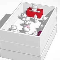 Small hello kitty pet shop 3D Printing 14642