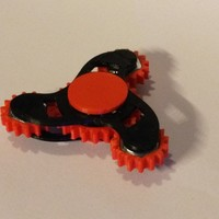 Small Geared Tri Fidget Spinner 3D Printing 146501