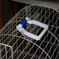Small Parrot Cage Handle 3D Printing 146544