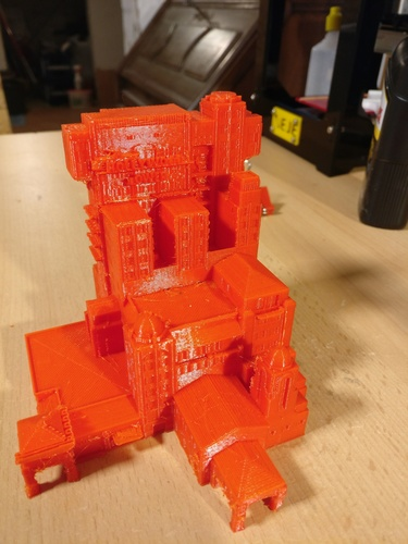 Tower of Terror Disneyland Paris 3D Print 146587