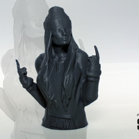 Small Snow Tha Product bust 3D Printing 146606