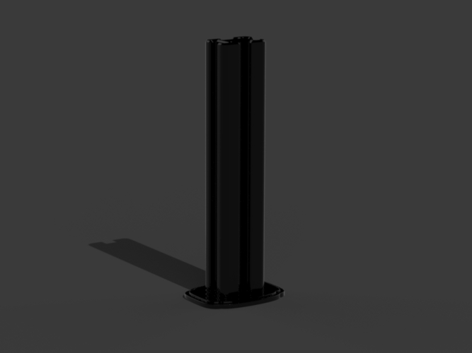Gas Pump - Tokhein 39 (tall version) 3D Print 146637