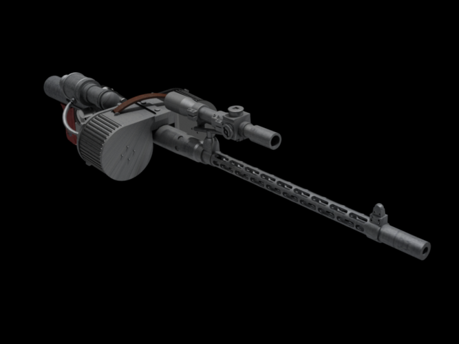 RT97C blaster rifle 3D Print 146677