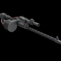 Small RT97C blaster rifle 3D Printing 146677