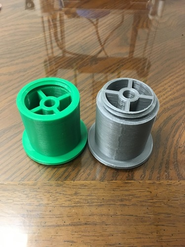 Low Friction Universal Filament Spool Holder 3D Print 146735
