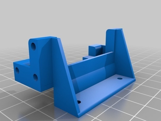King / Grand Hauler Font Holder 3D Print 146806